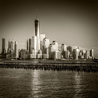 Freedom Tower, Sepia